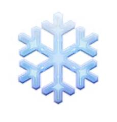 transparent background snowflake emoji ios emoji snowflake