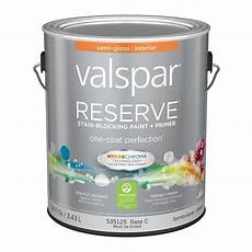 shop valspar reserve gloss latex interior paint and primer in one actual net contents 116