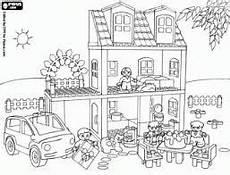 Playmobil City Ausmalbilder Coloriage Maison Playmobil Recherche Coloriage