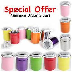 Pink Kitchen Canisters Uk by Pink Kitchen Ebay