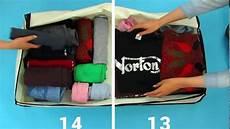 Koffer Und Kisten Richtig Packen Rollen Oder Falten