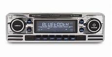 Classic Retro Mechless Bluetooth Usb Aux Car Stereo Radio