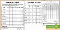properties of 3d shapes worksheet worksheet 3d shapes properties fact