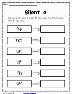 silent e worksheets free reading silent e first
