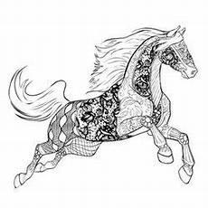 Ausmalbilder Erwachsene Kostenlos Pferde Pin Auf Horses