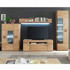tv wohnwand wohnzimmer badalona 05 aus massivholz eiche