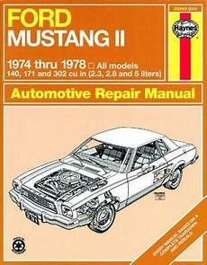 car repair manuals online pdf 1983 ford mustang interior lighting 17 best images about mustang ii s on cars