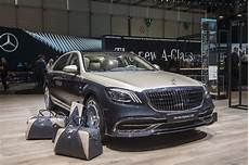 Genf 2018 Mercedes Maybach S Klasse Noch Exklusiver