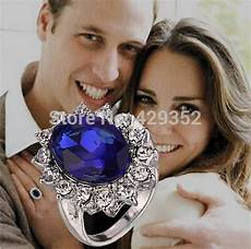 royal family princess kate engagement ring diana prince william crystal rings for