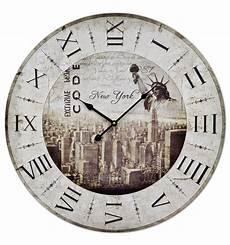 60cm large wall clock new york