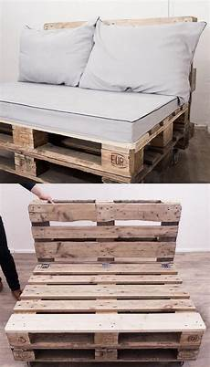 12 Easy Pallet Sofas And Coffee Tables To Diy In One