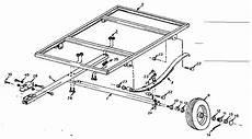 kenmore sears two wheel utility trailer parts 28761581 sears partsdirect