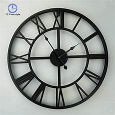 50cm Wall Clock Hanging Silent Quartz by 50cm Large Wall Clock Numerals Home Decoration
