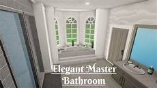 Aesthetic Master Bedroom Ideas Bloxburg by Roblox Bloxburg Master Bathroom House Decorating