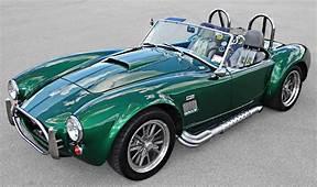 Green AC Cobra  427 Kit Cars Vintage