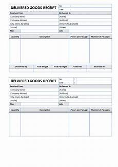 goods delivered receipt templates at allbusinesstemplates com