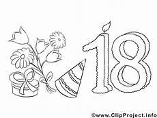Geburtstag Ausmalbilder Kostenlos Zum Ausdrucken Einladung 18 Geburtstag Malvorlage Kostenlos