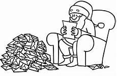 Schule Und Familie Ausmalbilder Ostern Ausmalbild Weihnachten Weihnachtsmann Liest Wunschzettel