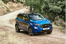 Sporty New Ford Ecosport St Line Revealed With Awd New 1