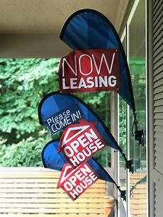 Cheap Apartments Now Leasing by Leasing Now Open House Sign Real Estate Flag Apartment