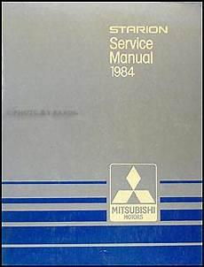 auto repair manual online 1984 mitsubishi starion electronic toll collection 1984 mitsubishi starion repair shop manual original