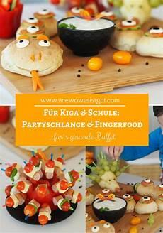 Partyschlange Fingerfood F 252 R 180 S Gesunde Buffet Rezept