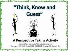 perspective taking activities making social decisions perspective activities and social skills