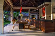Bali Luxury Villas Lombok Strait | dining room early morning with images bali villa