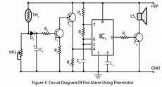 Alarm Using Thermistor Electronics Project