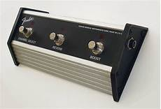 Fender 3 Button Footswitch Reverb