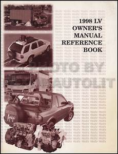 service and repair manuals 1999 isuzu hombre space engine control 1998 isuzu hombre repair shop manual set original