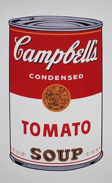 Andy Warhol After Cbell S Tomato Soup Catawiki