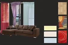 what color walls curtains and carpets blend with dark brown furniture