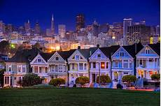 Painted San Francisco California This Stately