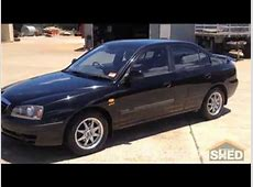2006 Hyundai Elantra XD Black 1357   YouTube