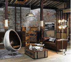 3 stylish and industrial inspired loft salon industriel loft maisons du monde moody charm