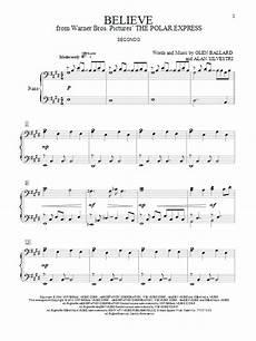 believe sheet music direct