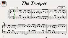 the trooper iron maiden piano youtube