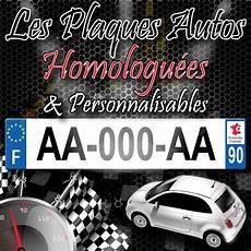 plaque immatriculation auto en plexiglas standard 520 x