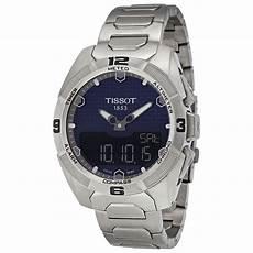 tissot t touch expert solar blue titanium mens