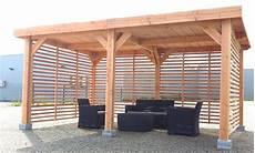 abri terrasse bois abri voiture pool house ou abri terrasse ces ossatures