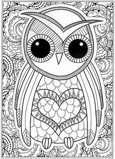 free coloring pages for adults to print 16670 coloring for adults kleuren voor volwassenen owl coloring pages detailed coloring pages