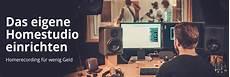 Homestudio Einrichten Mit Recording Equipment Fame