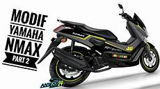 Modifikasi Jok Yamaha by 60 Modifikasi Jok Motor Yamaha Nmax Modifikasimania
