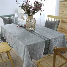 Traditional Tablecloth Solid Polyester Printed