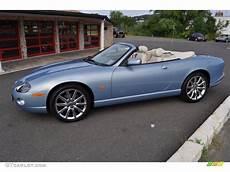 blue metallic 2006 jaguar xk xk8 convertible
