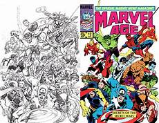 Malvorlagen Comics Comic Book Coloring Then And Now