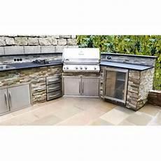 Outdoor Küche Edelstahl - eck outdoork 252 che mit napoleon grill k 252 hlschrank und