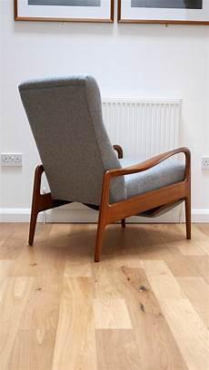 fauteuil de salon vintage greaves avec repose
