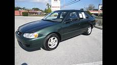 toyota les milles sold 2001 toyota corolla le 91k meticulous motors inc florida for sale